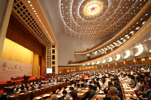 世哲大會中國盛大開幕 博學書院院長全程參與