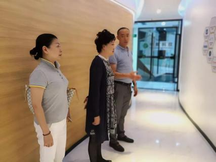 贛江南昌經開區領導受邀訪問摩天之星加速器,為優質項目落地南昌創造新機遇