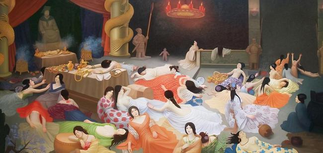 明德书院|朱元璋的殉葬制度有多残忍?为了让嫔妃不老,竟从她们头颅灌水银