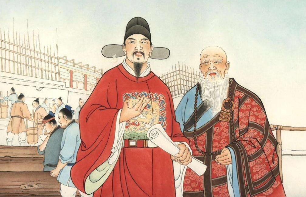 一代妖僧姚广孝,大明王朝的第一谋士,死后配享太庙被人供奉万世