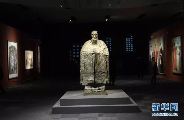 新华网:国家博物馆举办孔子文化展