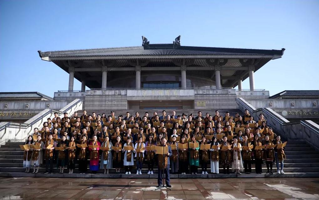 礼圣贤 沐儒风——明德书院六期开学典礼圆满结束